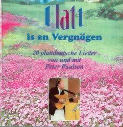 Platt is en Vergnögen. Lederheft mit CD