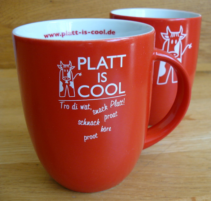 Platt-is-cool-Beker